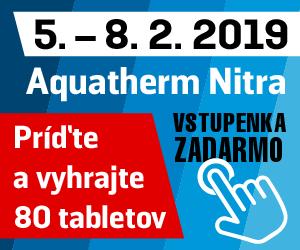 Vstupenka zadarmo Aquatherm Nitra 2019