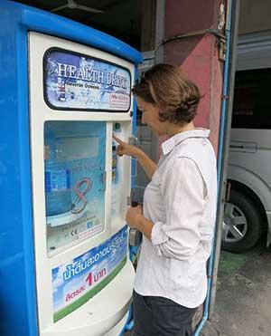 Automat na vodu z reverznej osmózy
