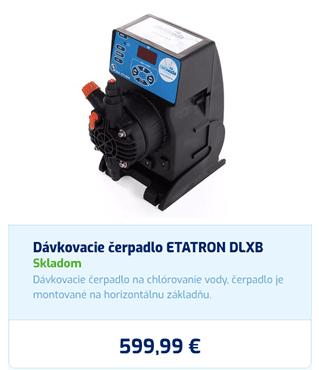 Dávkovacie čerpadlo na chlór ETATRON DLXB