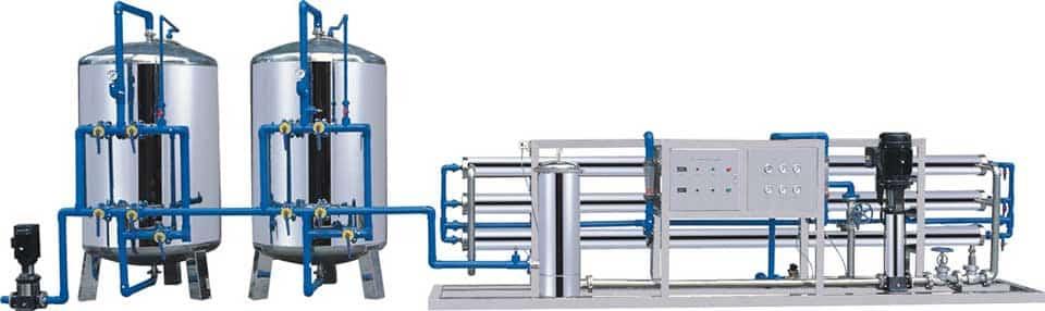 Filtrácia vody pre priemysel