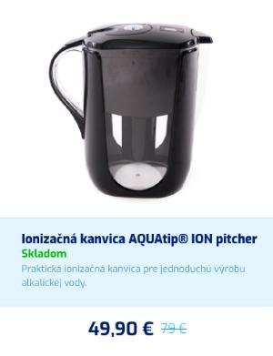 Ionizačná kanvice AQUAtip ION pitcher