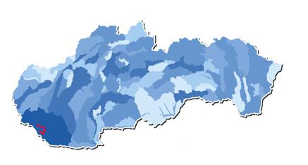 Mapa kontaminovaných obcí
