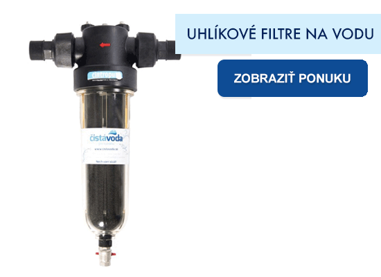 Uhlíkové filtre na vodu