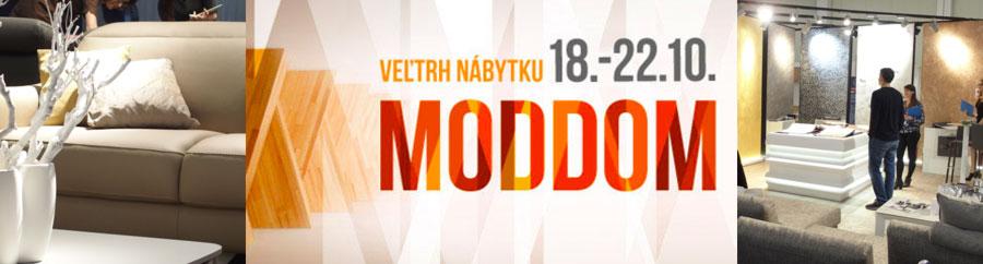 Veletrh nábytku MODDOM Incheba Expo Bratislava