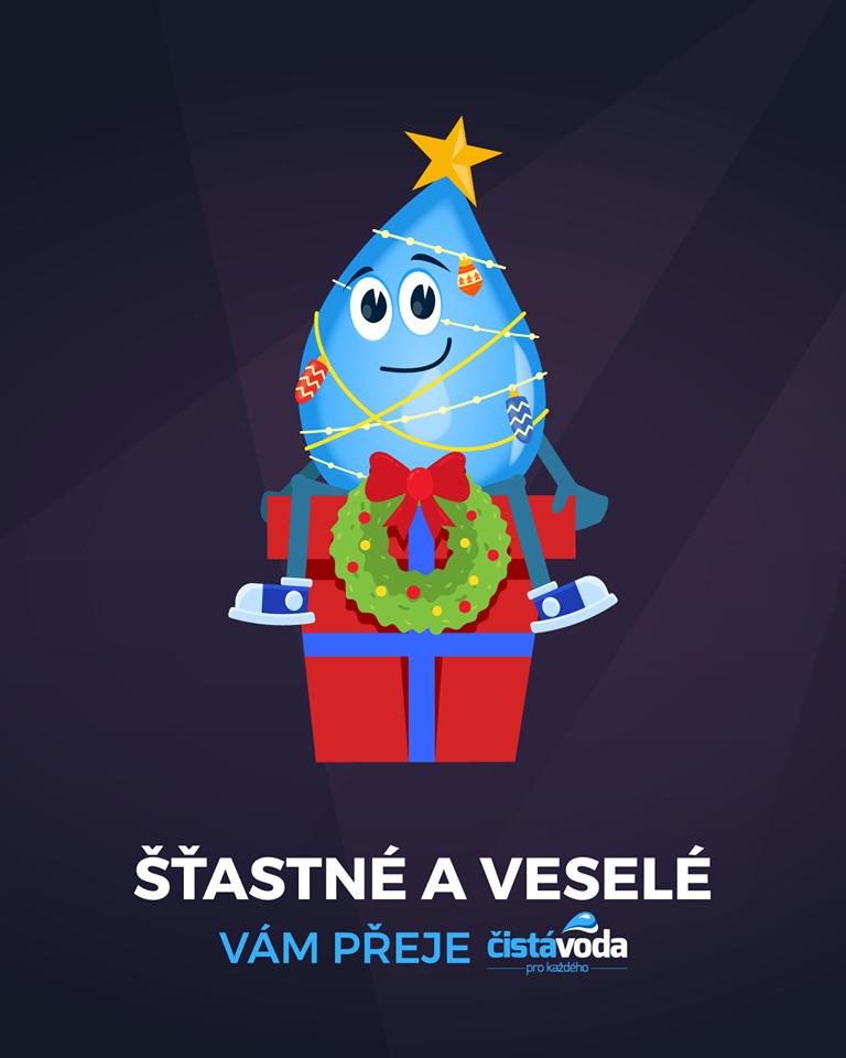 Veselé Vánoce ČistáVoda 2019