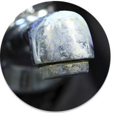 Vodný kameň na vodovodnej batérii