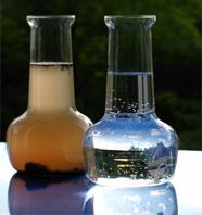 Úprava vody - viditeľné znečistenie vody