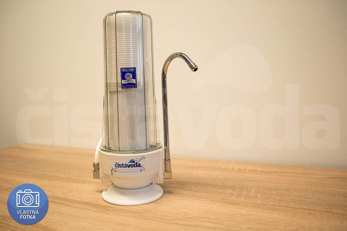 2-stuňový kuchyňský mechanicko-uhlíkový filtr na vodu