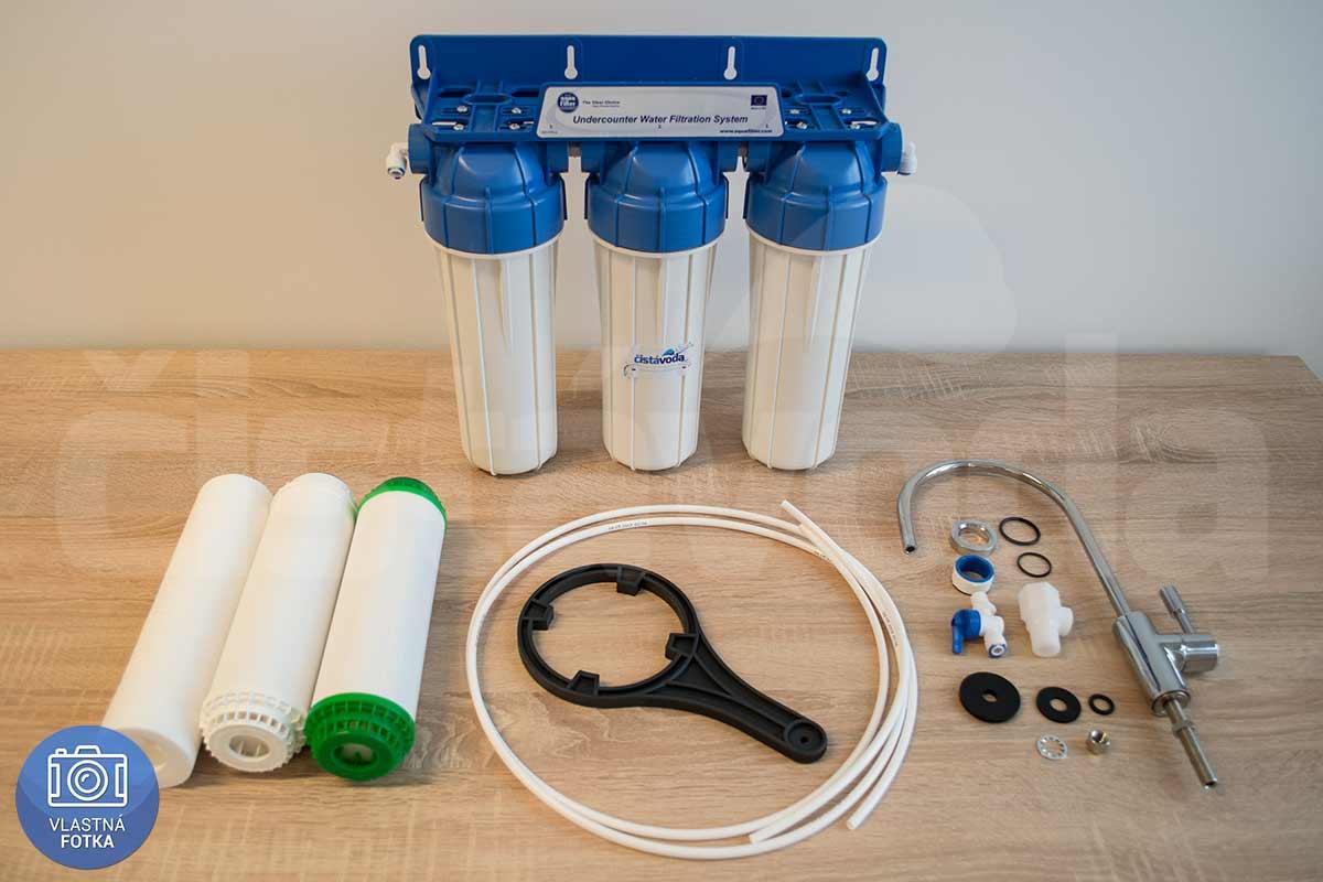 3-stupňový kapilárny filter na vodu