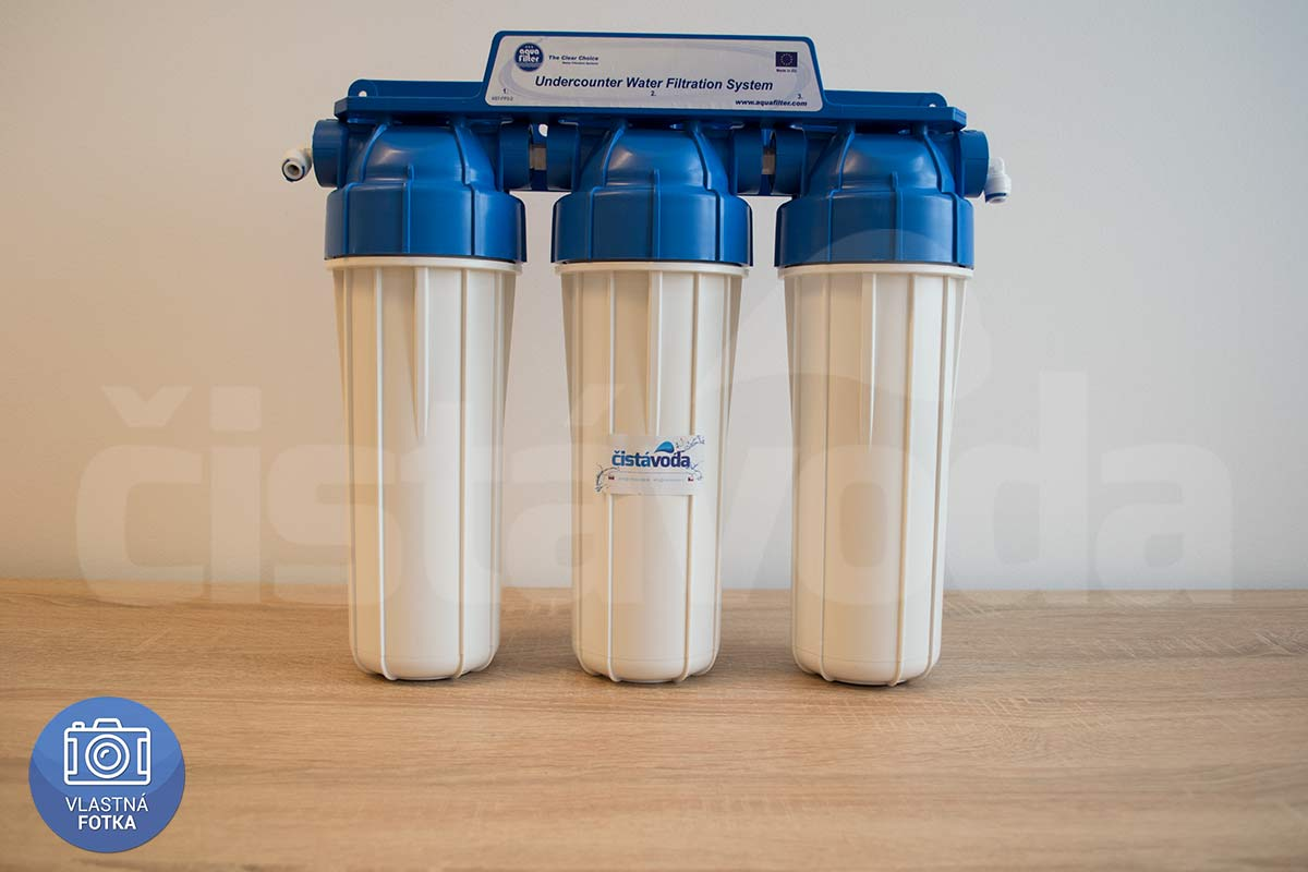3-stupňový kapilárny filter na vodu Aquafilter