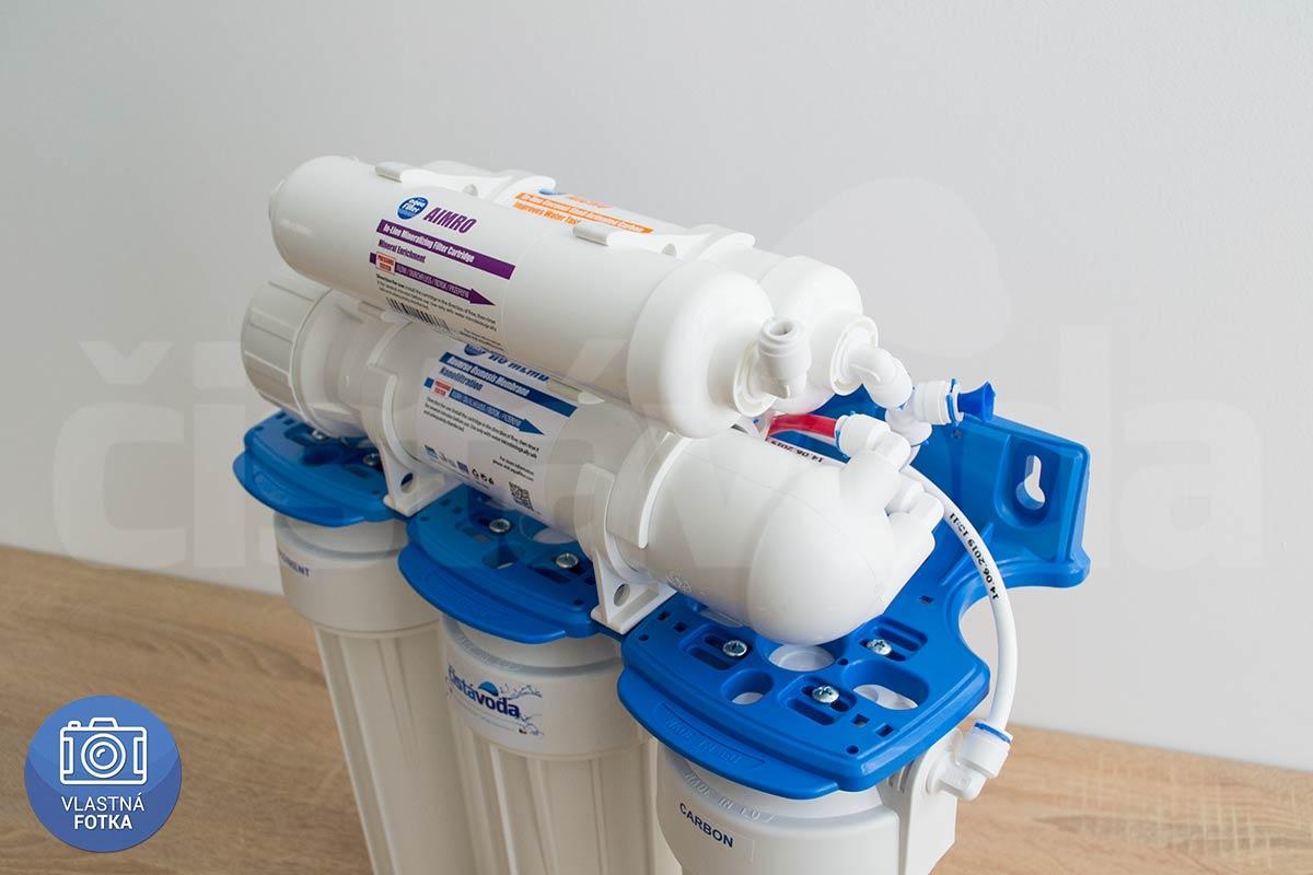 6-stupňová reverzná osmóza Aquafilter