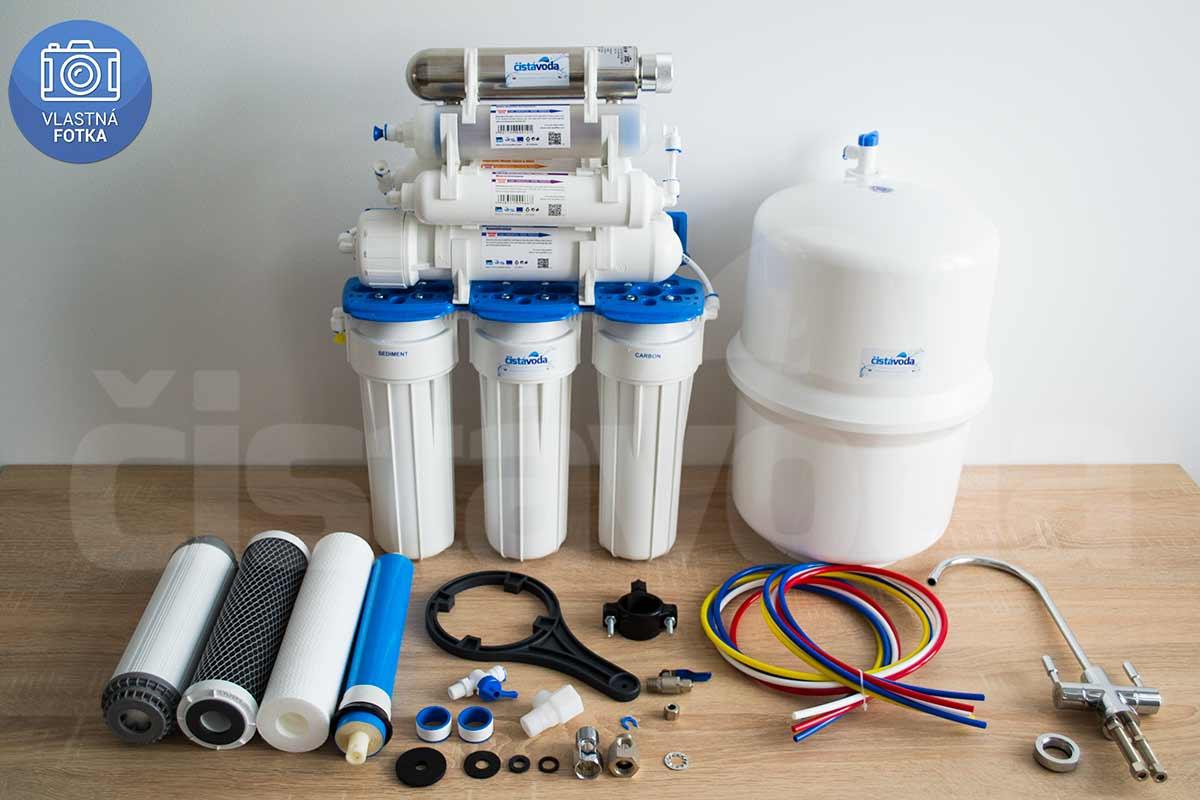 8-stupňová reverzní osmóza Aquafilter