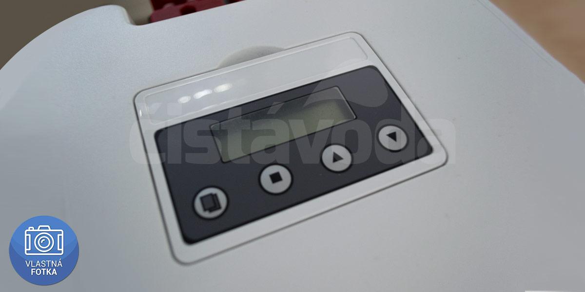 LCD displej filtra na dusičnany AQ BNT 22