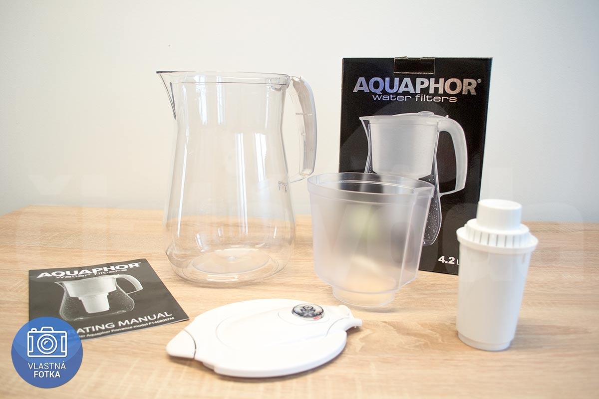 Filtračné kanvice Aquaphor Provance