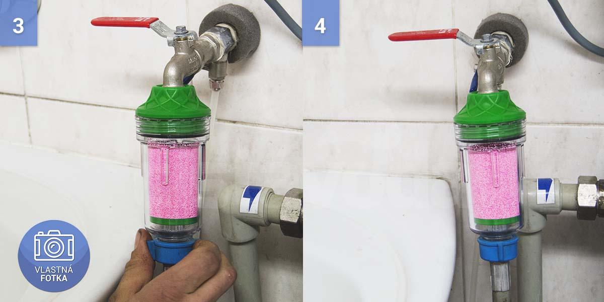 Inštalácia práčkového filtra Ecozon 100