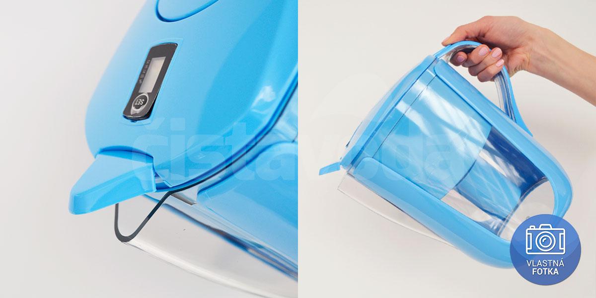 Ionizačná kanvica Aquatip ION pitcher - modrá