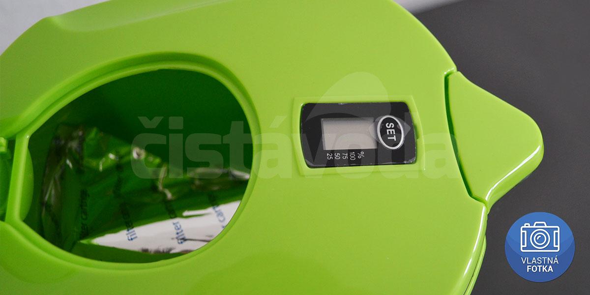 Ionizačná kanvica Aquatip ION pitcher - zelená
