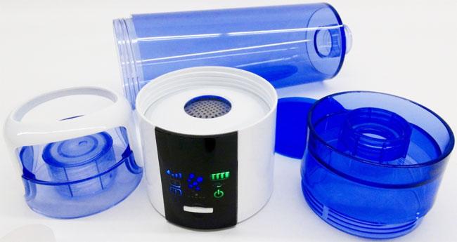 Obsah balení generátoru vodíkové vody Hydrogen GO