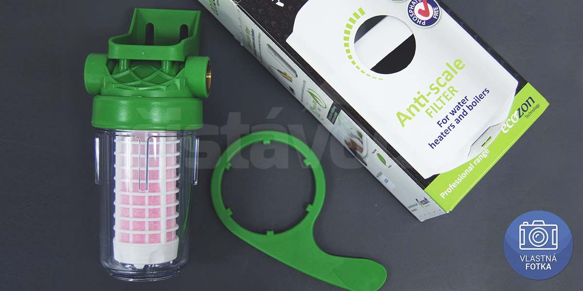 Práčkový filter ECOZON 200 balenie