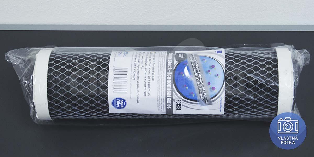 Vysoce kvalitní uhlíková filtrační vložka AQUAFILTER