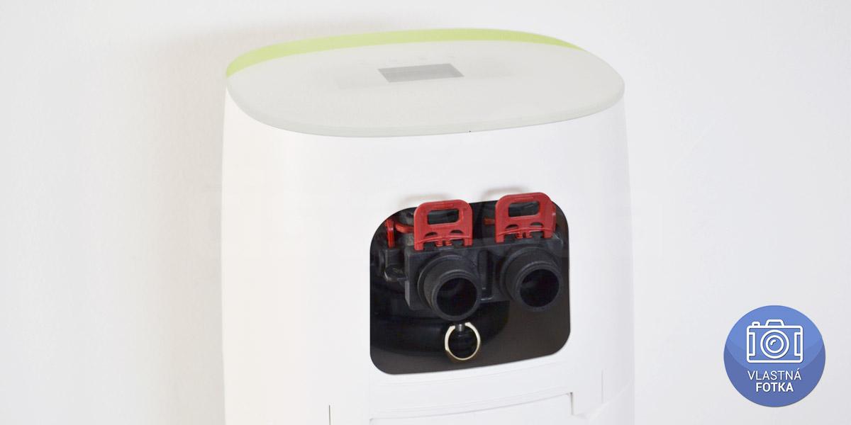 Pripojenie uhlíkového filtra na vodu