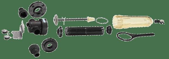 Mechanický filter Cintropur NW25 - jednotlivé diely