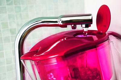 Filtračná kanvica Maxima Raspberry detail