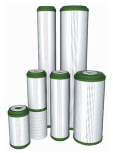 Filtračné vložky Aquafilter FCCBKDF