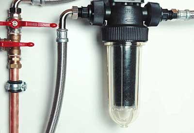 Inštalácia uhlíkového filtra Cintropur NW25 TE