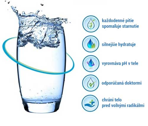 Výhody ionizovanej vody