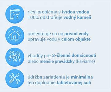 Informace o změkčovači vody Aquatip Logix