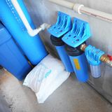 Realizácia - filtrácia vody pomocou multifunkčnej náplne