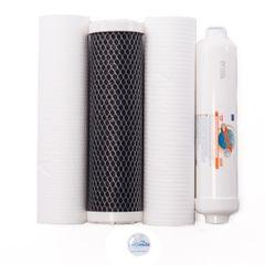 Sada 4 filtračných vložiek Aquafilter