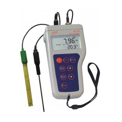 Prenosný vodotesný pH meter AD130