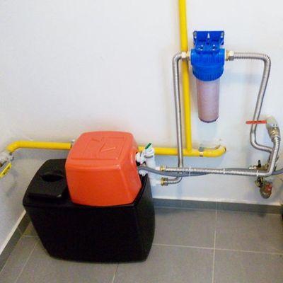 Realizácia - zmäkčenie vody Rudina
