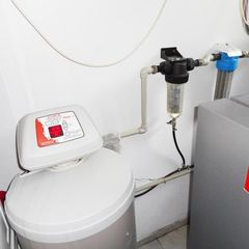 Realizácia - zmäkčenie vody a uhlíková filtrácia