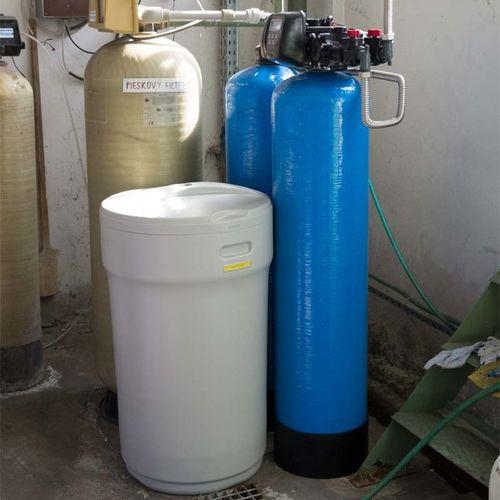 Realizácia - zmäkčenie vody AMICO Drevo